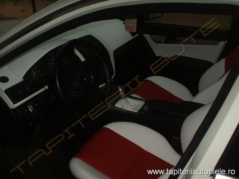 Tapiterie_piele_Mercedes C AMG_01