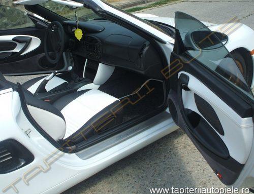 Porsche Boxter S – Tapiterie piele